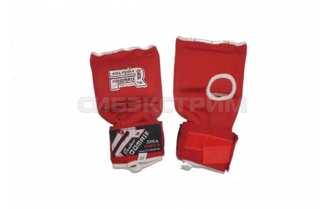 Бинты боксерские гелевые  REP-231 Red