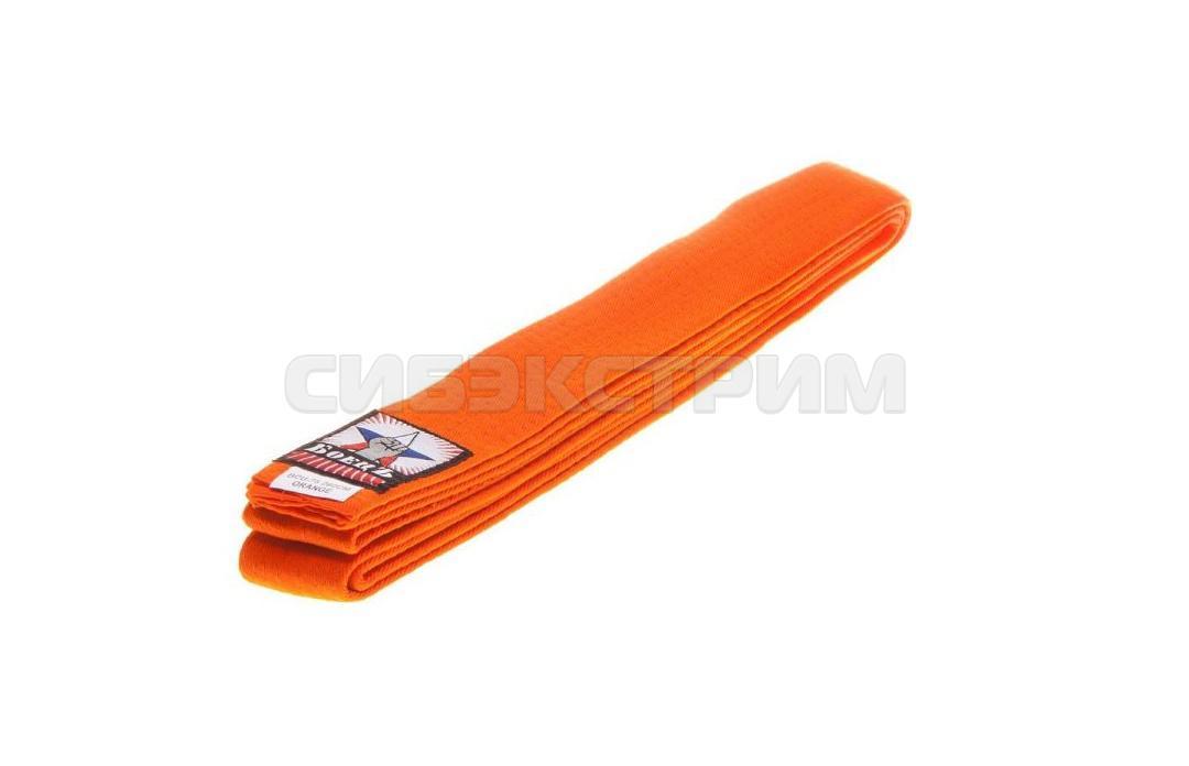 Пояс для единоборств BCU-75 оранжевый