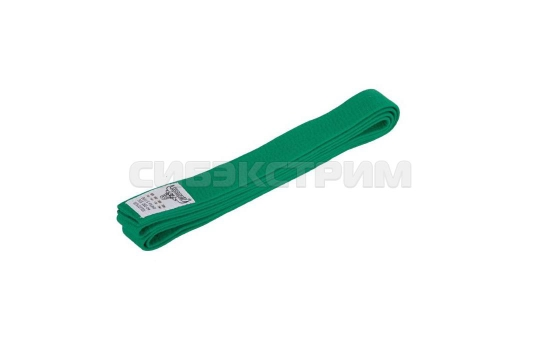 Пояс для единоборств RKU-272 зеленый