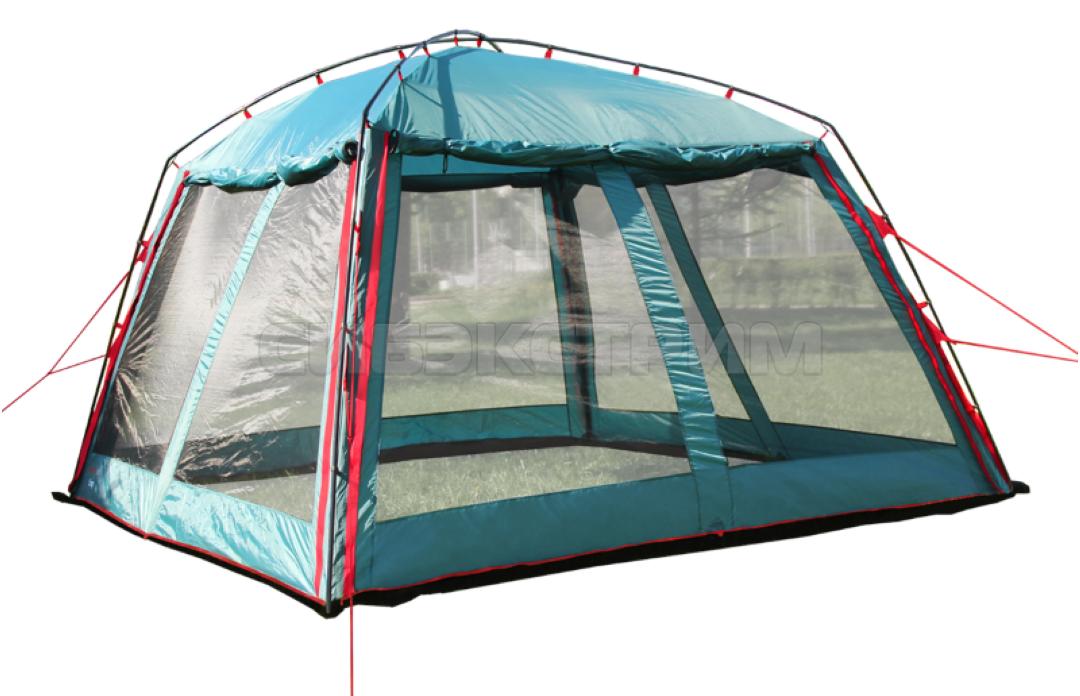 Тент-шатер BTrace Camp 370 х 370 х 208 Зеленый