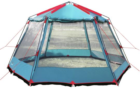 Тент-шатер BTrace Highland 370 х 430 х 225 см Зеленый