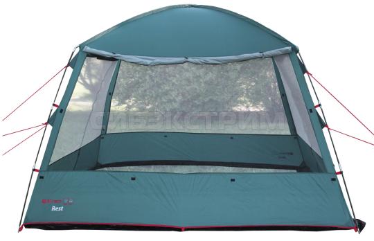 Тент-шатер BTrace Rest 308х 308 х 208 см Зеленый