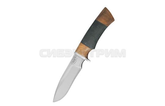 Нож Мастер гарант Кайман сталь 65х13 кожа