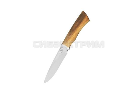 Нож Мастер гарант Тайфун сталь 65х13 дерево