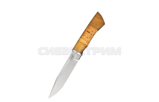Нож Мастер Гарант Вепрь сталь 65х13 береста