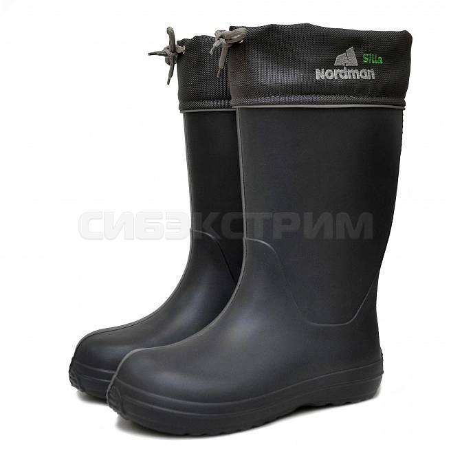 Сапоги женские Nordman Silla 629156-03 (-45С) ЭВА, темно-серый