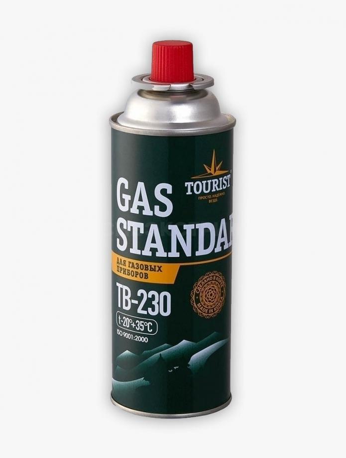 Баллон газовый Tourist Standart 230гр, всесезонный