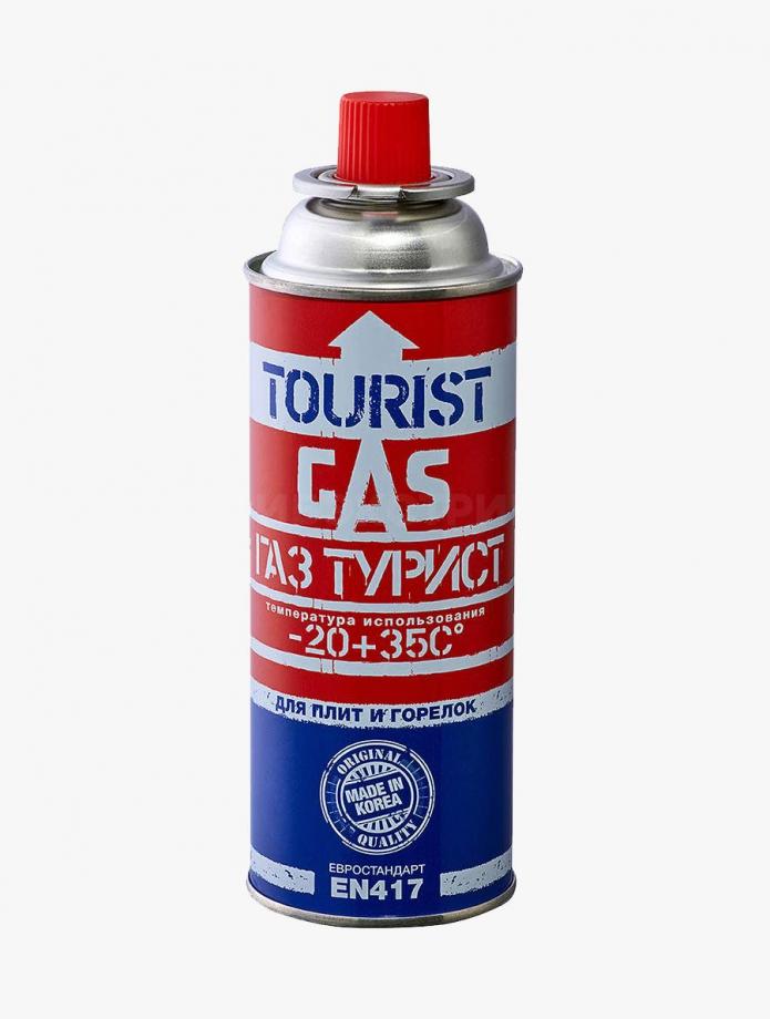 Баллон газовый Tourist 220гр, всесезонный