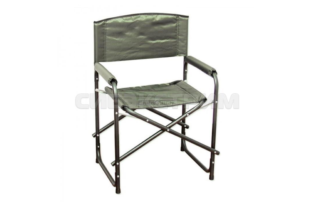 Кресло СЛЕДОПЫТ складное 585х450х825мм, сталь 25мм, цвет хаки