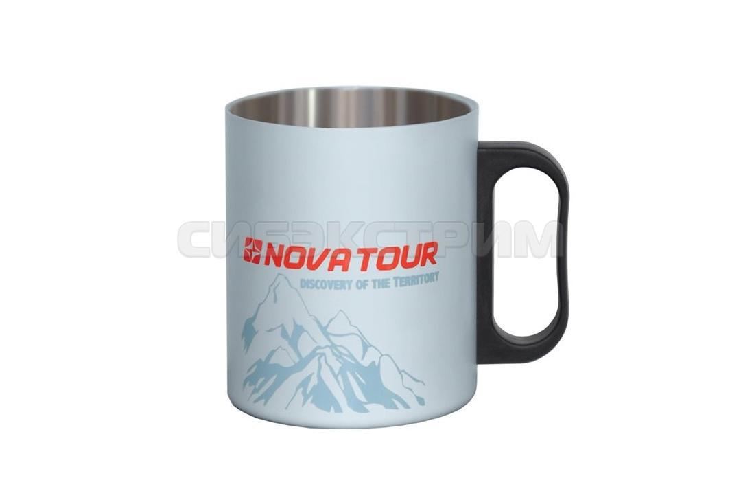 Термокружка Nova Tour 350мл, цвет серый