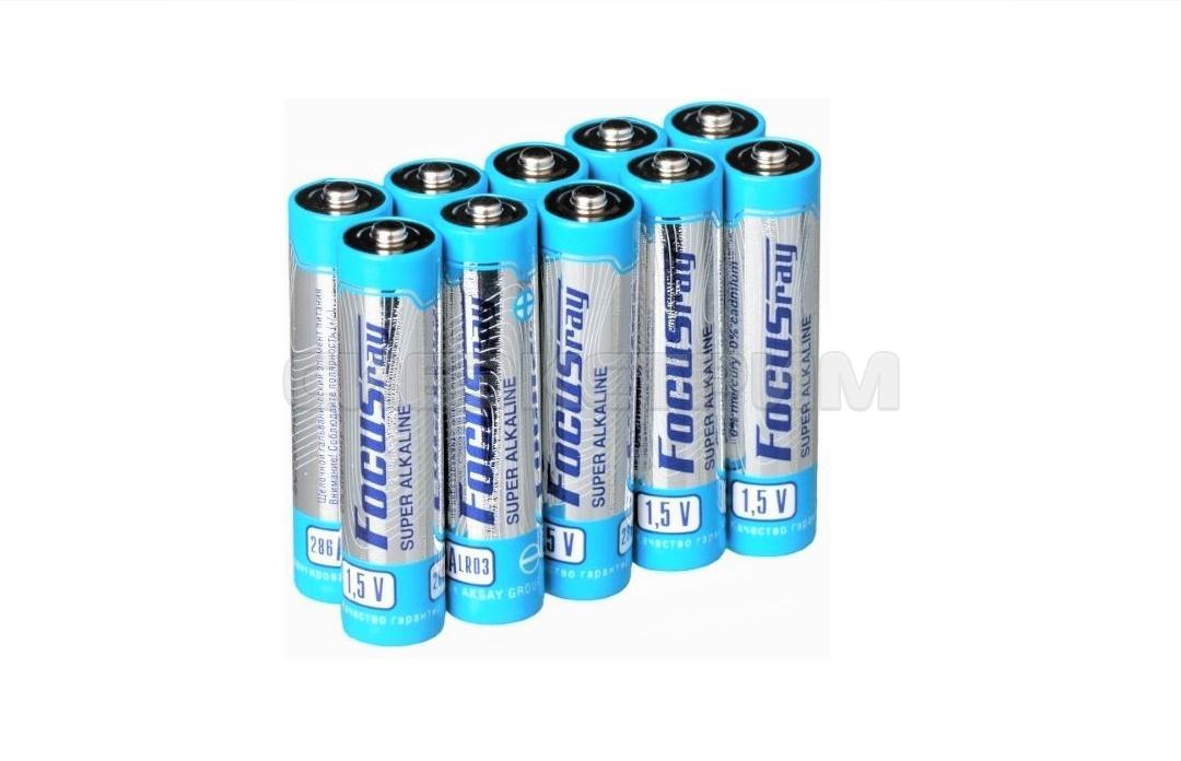 Батарейка ААА FOCUSray  LR03/S10 SUPER ALKALINE 10шт.