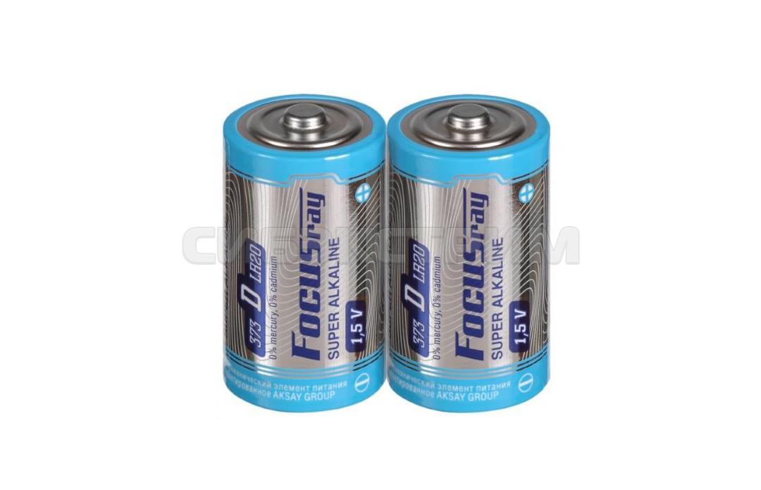 Батарейка D FOCUSray LR20 S2 SUPER ALKALINE