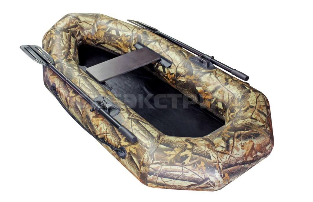 Лодка ПВХ Компакт-200 гребная камуфляж