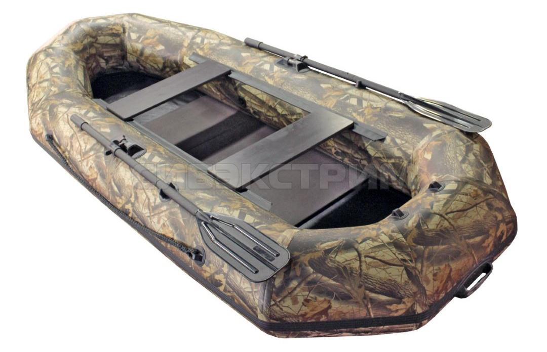 Лодка ПВХ Leader Компакт-280 гребная камуфляж