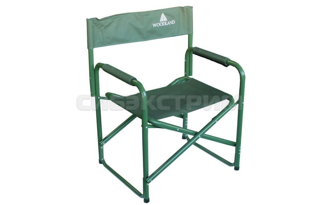 Кресло Woodland Camper складное 80 x 60 x 46 см. сталь