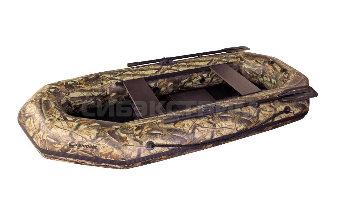 Лодка ПВХ Компакт-265 гребная камуфляж
