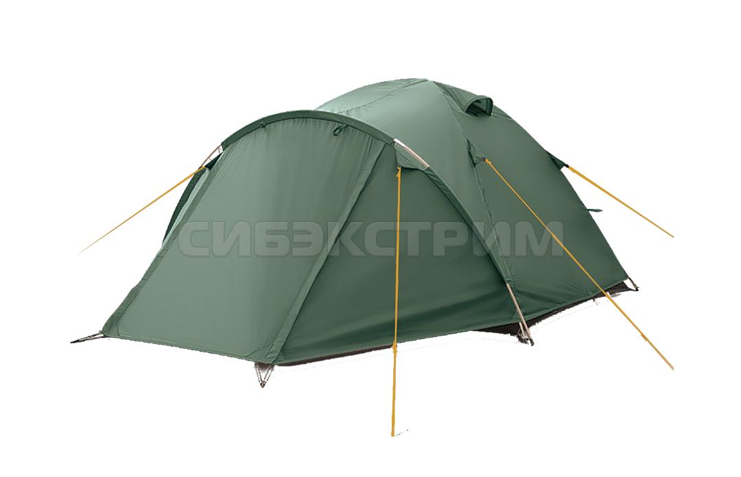 Палатка BTrace Canio 3 220х350х130 см. цвет Зеленый