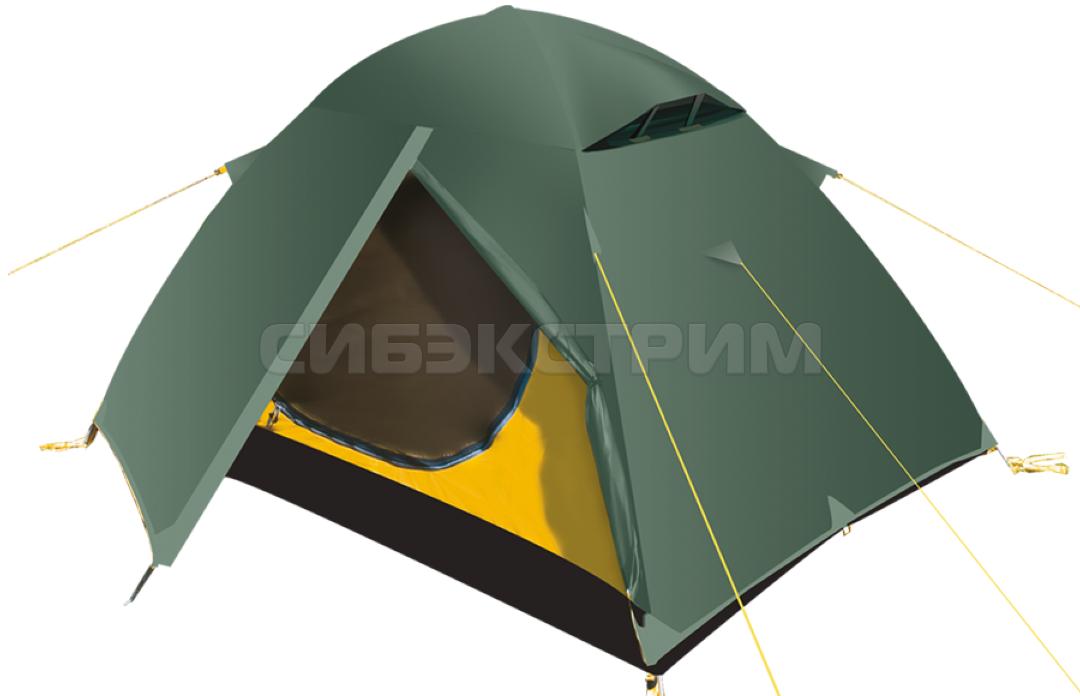 Палатка BTrace Travel 3 220х320х120 цвет зеленый