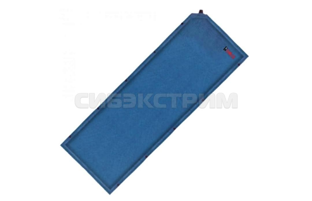 Коврик самонадувающийся BTrace Elastic 7, 190х65х7см. Синий