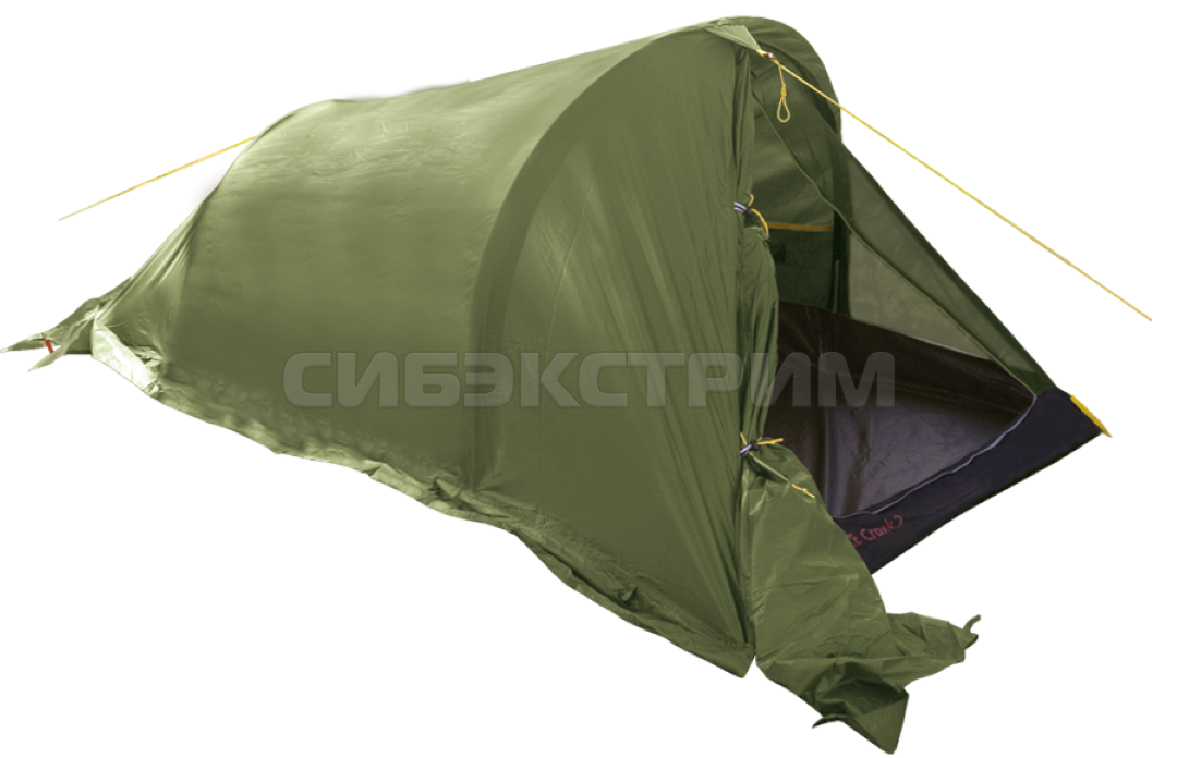 Палатка BTrace Crank 2 цвет зеленый