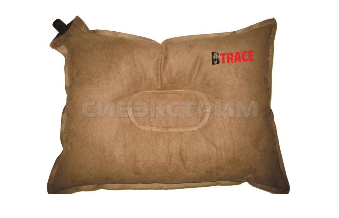 Подушка самонадувающаяся BTrace Warm 43х34х8,5см, коричневый