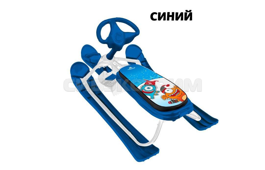 Снегокат ТЯНИ-ТОЛКАЙ Спорт 2 синий