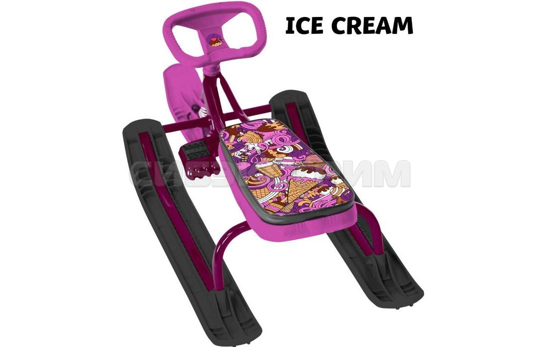 Снегокат ТЯНИ-ТОЛКАЙ Ice Cream с рулеткой