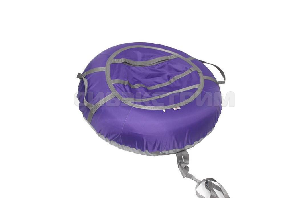 Тюб BELON серия ЭКОНОМ овальный 105х65 см, фиолет