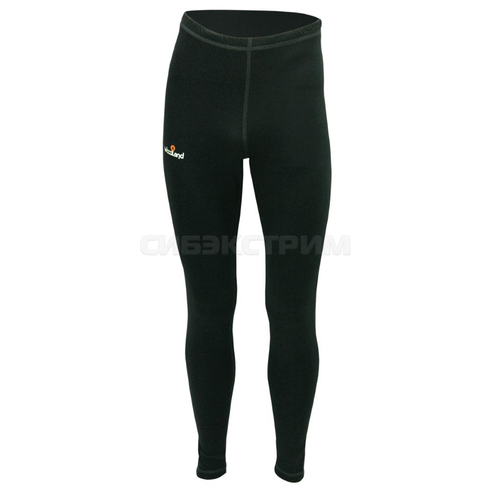 Кальсоны Woodland Ultra Wool Thermo, черный