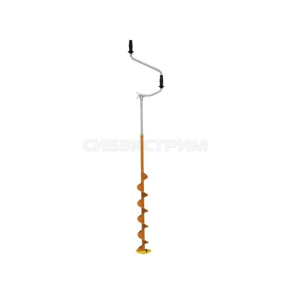 Ледобур ЛЕГЕОН Вуокса с телескопический удлинителем 100мм