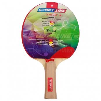 Ракетка для настольного тенниса Start Line Level 100 прямая
