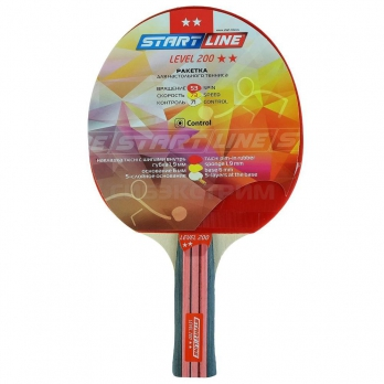 Ракетка для настольного тенниса Start Line Level 200 коническая