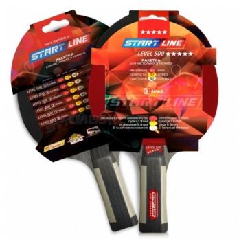 Ракетка для настольного тенниса Start Line Level 500 коническая