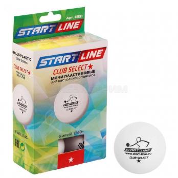 Мяч для настольного тенниса Start Line Club Select 1