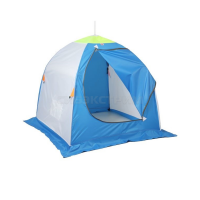 Палатка зонт зимняя МЕДВЕДЬ 1-местная, дышащая 4-луча