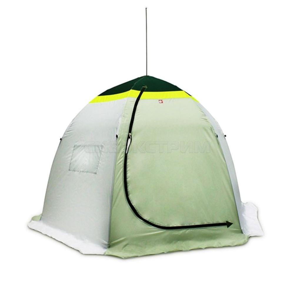 Палатка зонт зимняя МЕДВЕДЬ 2-местная,1-слойная , дышащая, 6-лучей