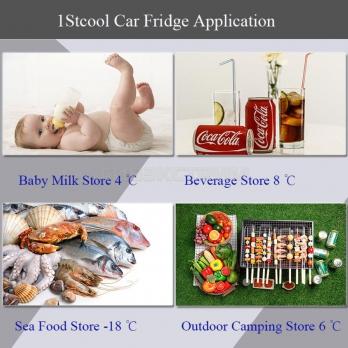 Холодильник компрессорный 32л 1STCOOL Q-36
