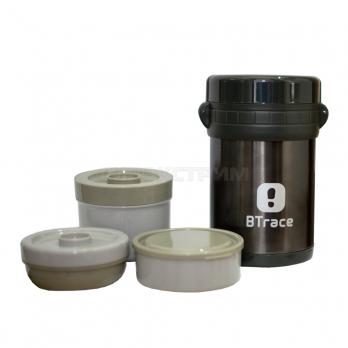 Термос пищевой BTrace 905-1500 серебристый 1500мл