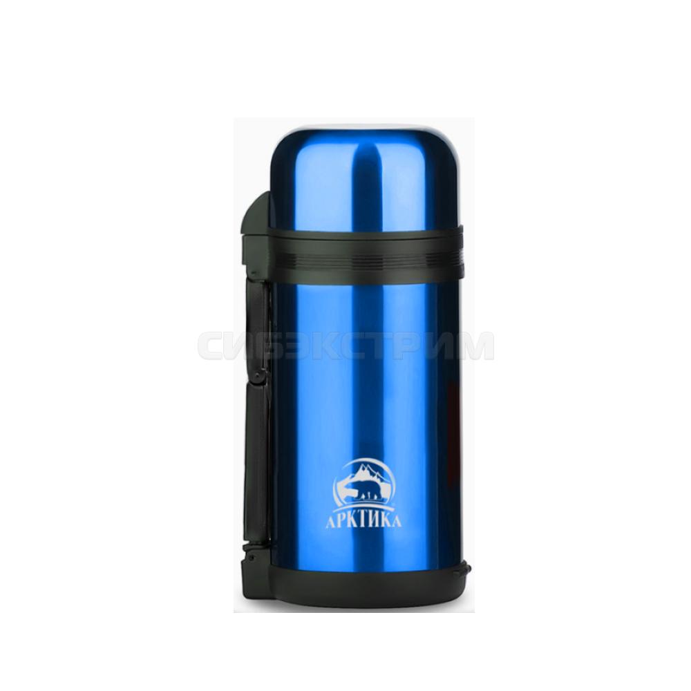 Термос АРКТИКА 202-1200 1,0л широкое горло синий