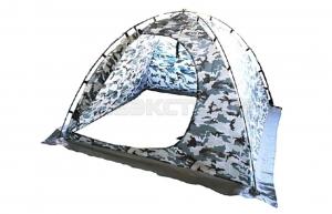 Палатка рыбака зимняя SWD дуговая без дна 2Х2, цвет белая ночь