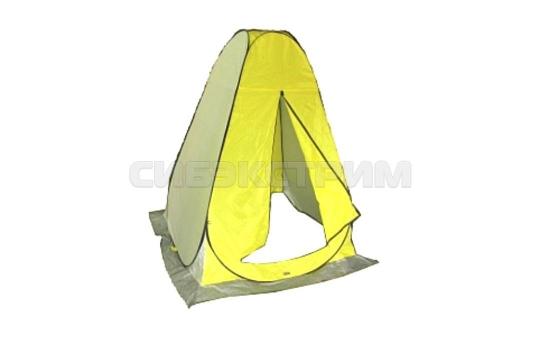 Палатка-автомат рыбака зимняя SWD без дна 1,5Х1,5Х1,8 цвет желтый