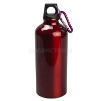 Бутылка питьевая алюминиевая 750мл, красный