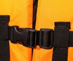 Жилет страховочный Таймень Эко XL (р.52-54) оранжевый