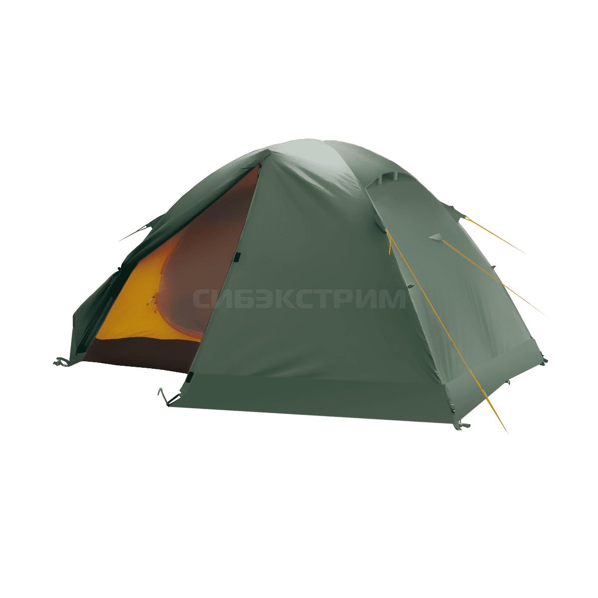 Палатка BTrace Solid 2+,  зеленый