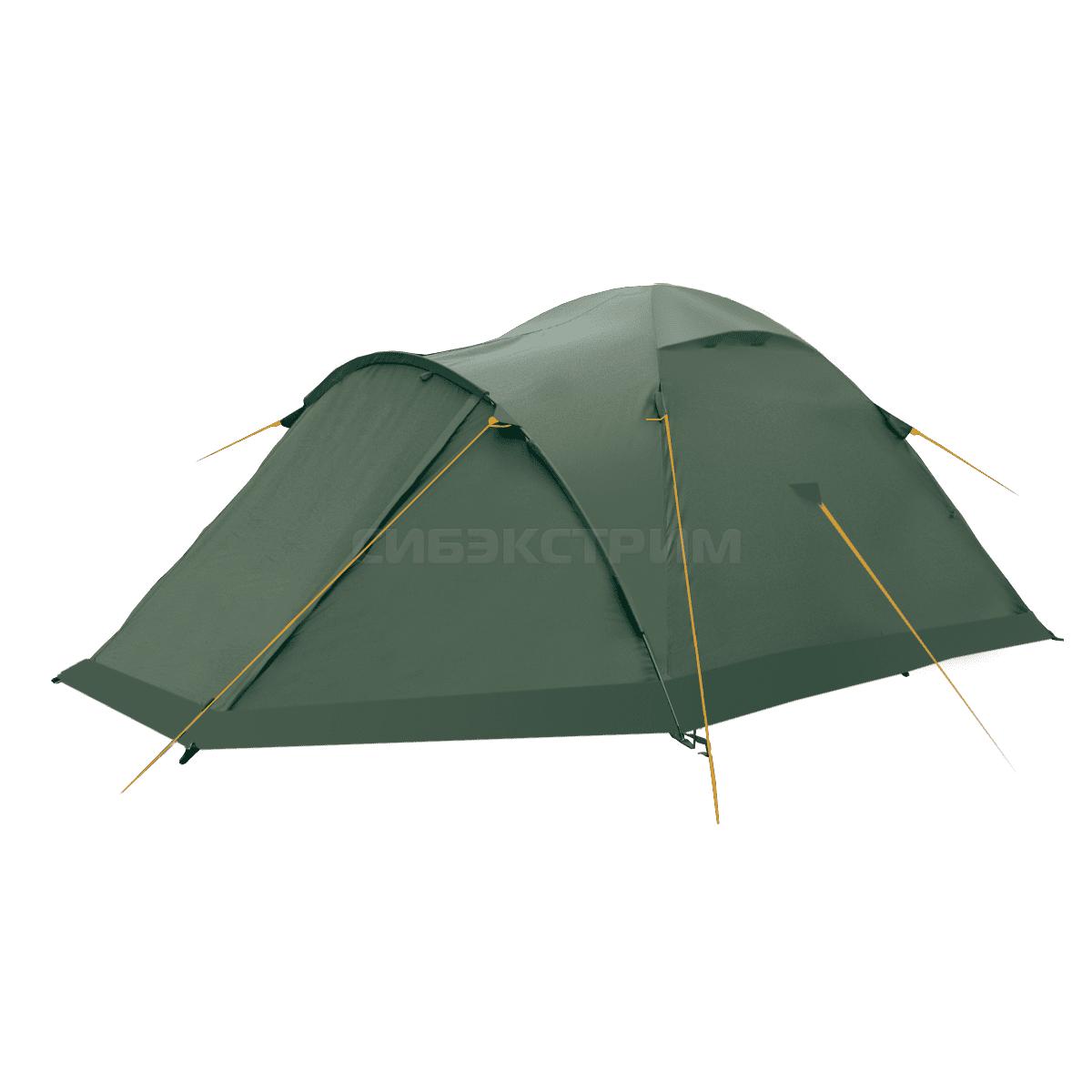 Палатка BTrace Talweg 3+, зеленый