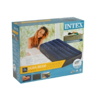 Надувной матрас Intex Classic Downy Fiber-Tech, 76х191х25см