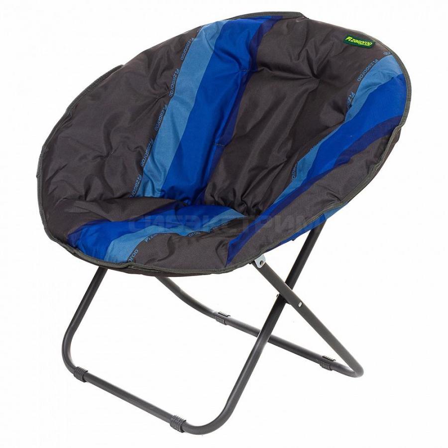 Кресло складное Гриб К304 (85 х 85 х 74см) индиго
