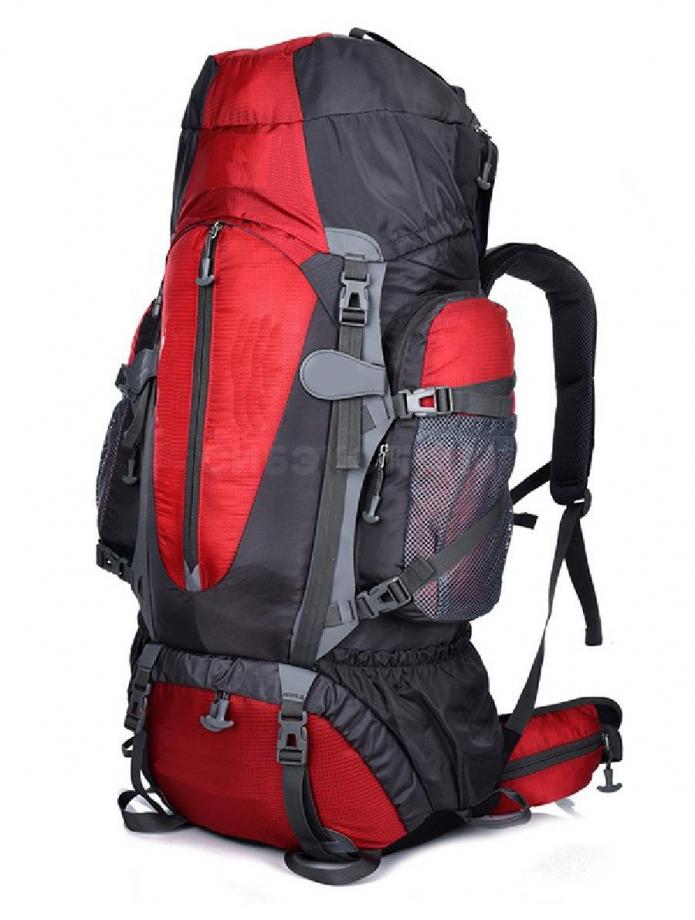 Рюкзак ECOS Coyote 80л, красный