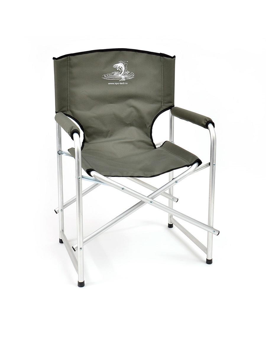 Кресло складное Кедр, алюминий, до 110кг.AKS-03