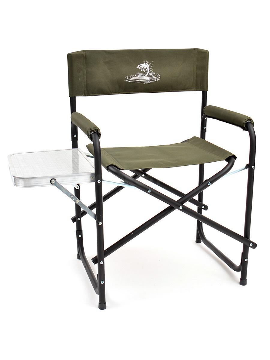 Кресло КЕДР НПО складное базовый вариант со столиком, сталь, до 120кг.SK-04